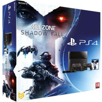 PS4 500GB + Killzone Shadow Fall + Cámara PlayStation Eye + 2 mandos DualShock 4