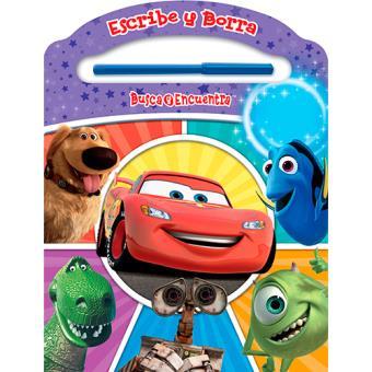 Escribe y Borra. Busca y Encuentra: Disney Pixar
