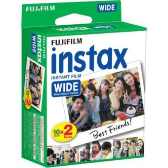 Papel Fujifilm para Instax Film Wide  (2x10 fotos)