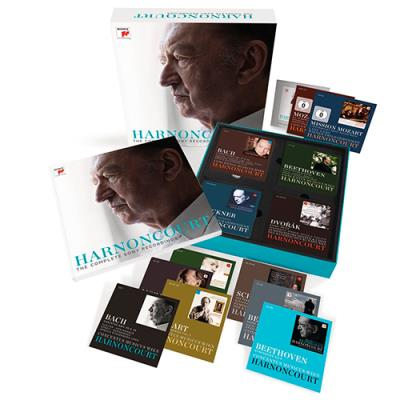 Harnoncourt. The Complete Sony Recordings (CD + DVD)