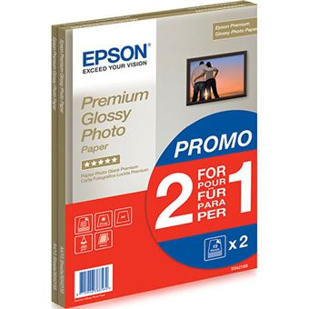 Epson S042169 A4 15 hojas Pack 2 x 1