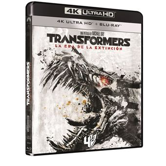 Transformers 4 La era de la extinción - UHD + Blu-Ray