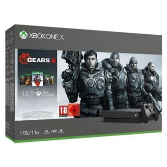 Consola XBox One X 1TB - Gears Family