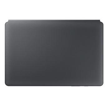 Funda con soporte Samsung Keyboard Gris para Galaxy Tab S6