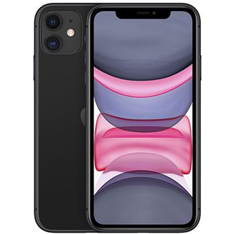 Apple iPhone 11 6,1'' 256GB Negro
