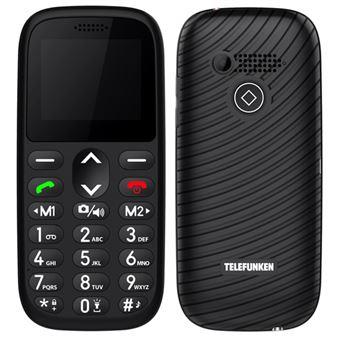 Telefono móvil Telefunken S410 Negro