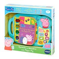 Libro interactivo Peppa Pig VTech