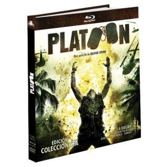 Platoon - Blu-Ray + DVD + Libreto