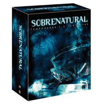 SobrenaturalSobrenatural - Temporadas 1 a 5 - DVD