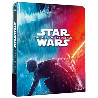Star Wars  El ascenso de Skywalker - Steelbook Blu-Ray