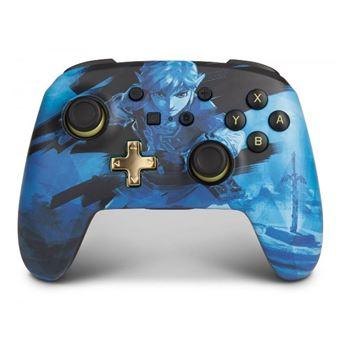 Mando Power A Enhanced Azul para Nintendo Switch