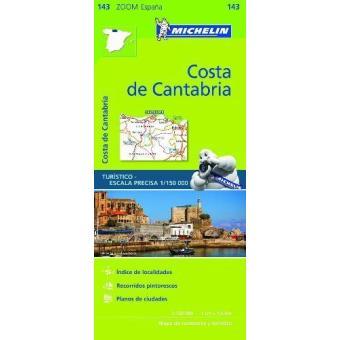 Costa de Cantabria-mapa zoom
