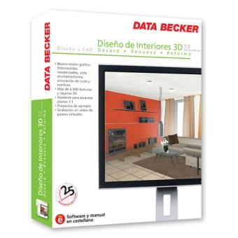 Diseno De Interiores 3d Data Becker Of Dise O De Interiores 3d 7 Dx Home Edition Pc Dvd Rom Los