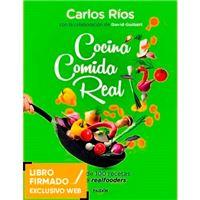 Cocina comida real - Libro firmado