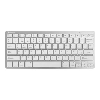 Teclado inalámbrico Silver HT Colors edition Blanco