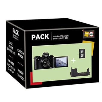 Cámara compacta Canon PowerShot G5X IS Pack