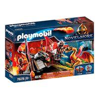 Playmobil Novelmore Entrenamiento del dragón bandidos Burnham
