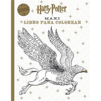 Maxi libro para colorear Harry Potter