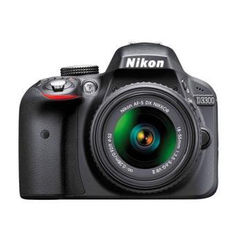 Nikon D3300 + 18-55 VRII + Estuche + Libro + Trípode