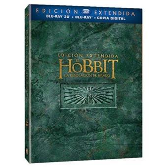 El Hobbit: La desolación de Smaug. - Blu-Ray + 3D + Copia digital  Ed extendida