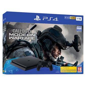 Consola PS4 Slim 1TB + COD Modern Warfare 2019