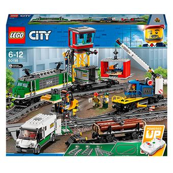 LEGO City Trains 60198 Tren de mercancías