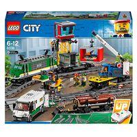 LEGO City Trains 60198 Tren de mercancías