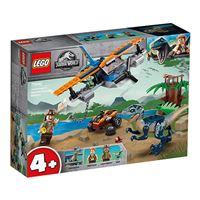 Velocirraptor: misión de rescate en biplano - Lego Jurassic World