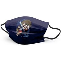 Mascarilla infantil Luanvi higiénica reutilizable Harry Potter Amigos Talla 8 - 13 años