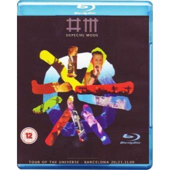 Depeche Mode: Tour Of The Universe - Barcelona 20/21:11:09  (Formato Blu-Ray)