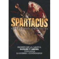 Spartacus  Temporadas 1 a 3 + Spartacus: Dioses de la arena - DVD
