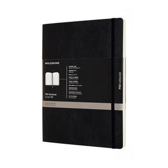 Libreta Moleskine Pro XL negra