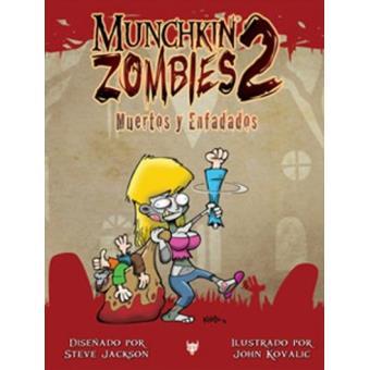 Munchkin zombies 2. Muertos y enfadados. Expansión