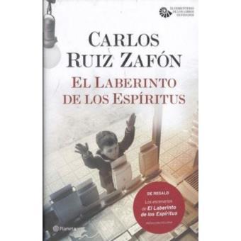 Pack El laberinto de los espíritus + librito con los pasajes y paisajes de la novela