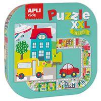 Puzzle Apli XXL La ciudad