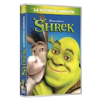 Pack Shrek 1-4 - DVD