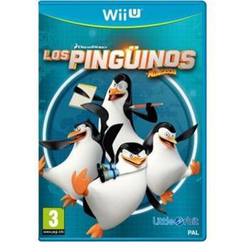 Los Pingüinos de Madascar Wii U