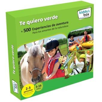 Caja Regalo Kiddy's box - Te quiero verde