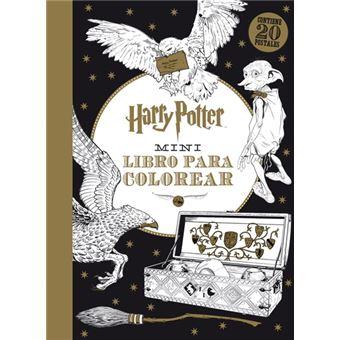 Mini libro para colorear Harry Potter