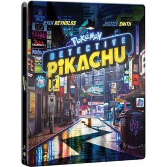 Pokémon: Detective Pikachu - Steelbook 3D + Blu-Ray