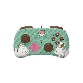 Mando Horipad Mini Pikachu & Eve para Nintendo Switch