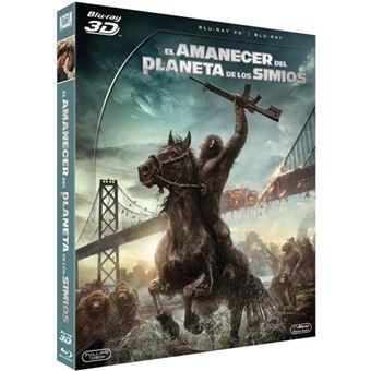 El amanecer del planeta de los simios - Blu-Ray 3D + 2D