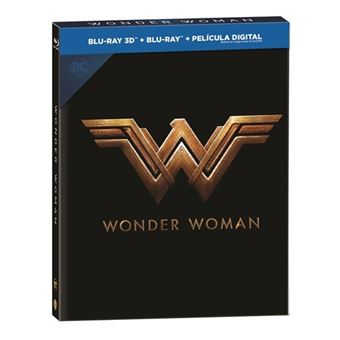 Wonder Woman - Ed Digibook - 3D + Blu-Ray