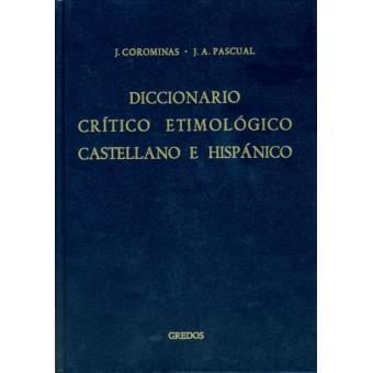 Diccionario crítico etimológico ri-x