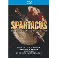 Spartacus - Temporadas 1 a 3 + Spartacus: Dioses de la arena - Blu-Ray