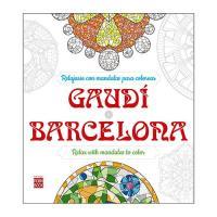 Relajarse con mandalas. Gaudí Barcelona