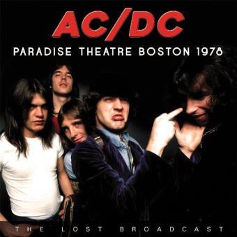 Paradise Theatre Boston 1978 - Vinilo
