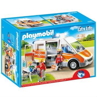 Playmobil City Life Ambulancia con luz y sonido