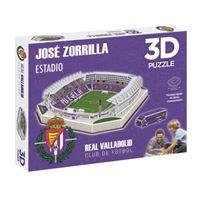 Puzzle 3D Estadio José Zorrilla Real Valladolid