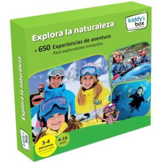 Caja Regalo Kiddy's box - Explora la Naturaleza